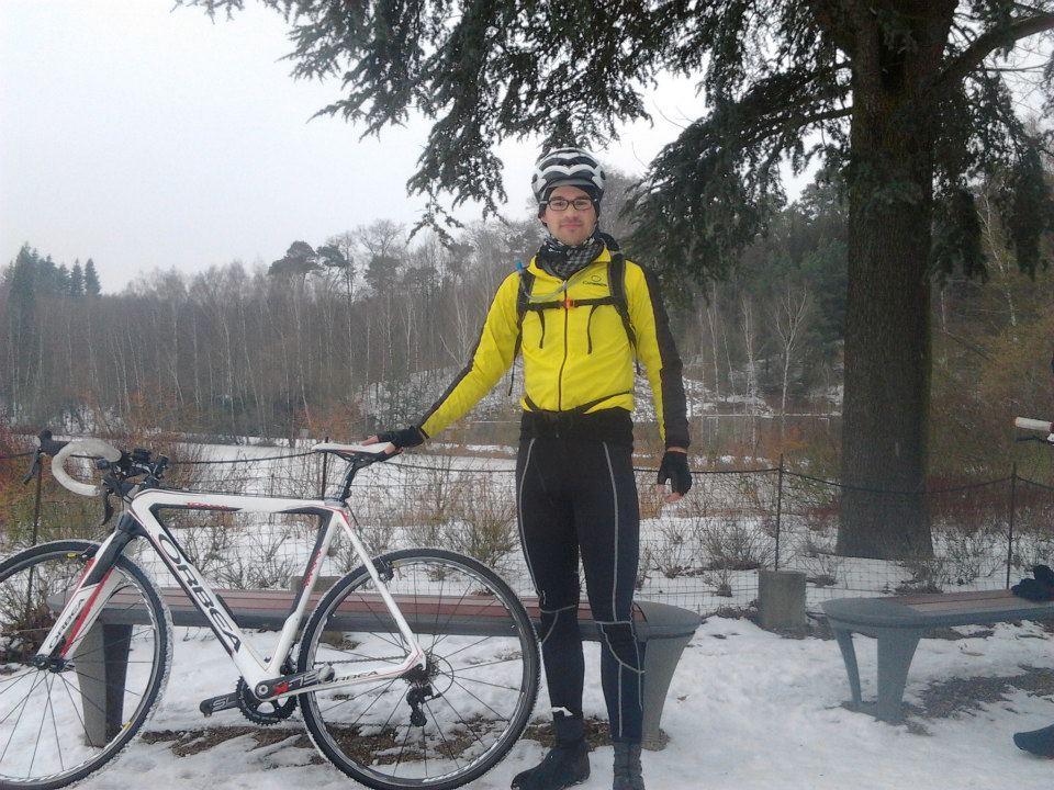 BBB: La Hulpe snowfall.